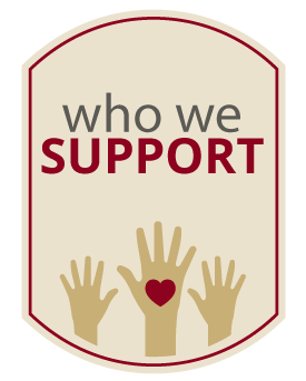who-we-support